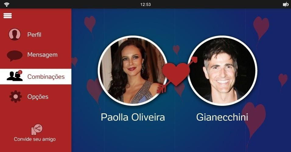 Paolla Oliveira e Reynaldo Gianecchini formariam um belo casal. Além de terem atuado juntos em