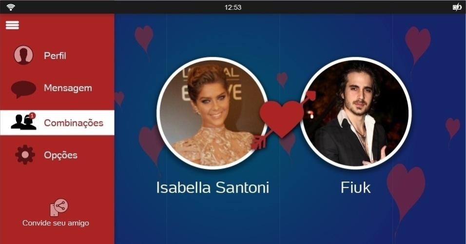 Solteira após terminar seu namoro com Rafael Vitti, Isabella Santoni poderia dar 'match' com Fiuk