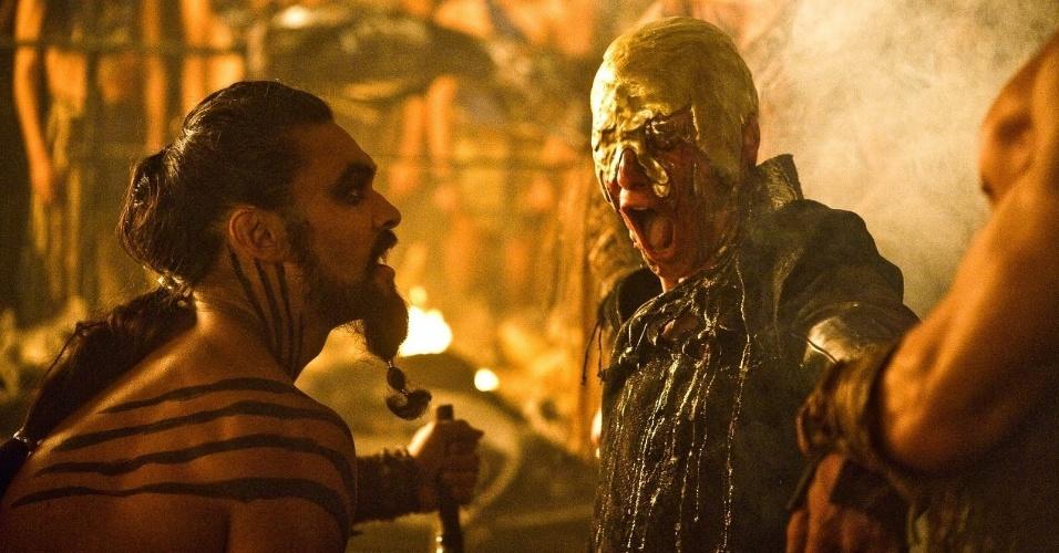 """Morte de Viserys em """"Game of Thrones"""""""