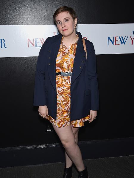A atriz Lena Dunham - Getty Images
