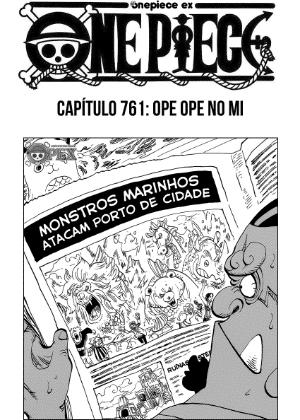 """Capa da versão brasileira de """"One Piece"""", edição mais longeva de mangá japonês - Reprodução"""