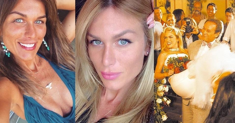 """Ludmila Dayer, que viveu a ninfeta Danielle em """"Senhora do Destino"""", apareceu com o visual bastante diferente em uma foto publicada em seu instagram"""