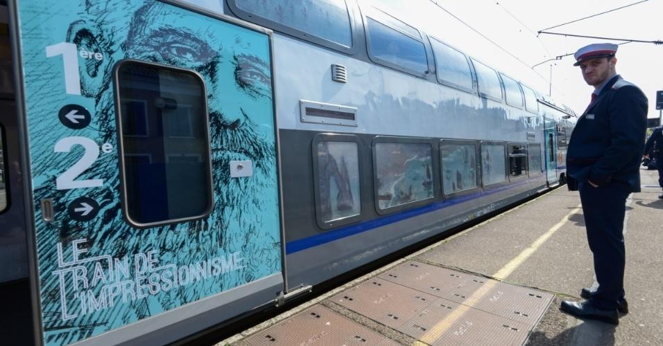 Trem do Impressionismo leva turistas de Paris para a região da Normandia, onde o movimento nasceu