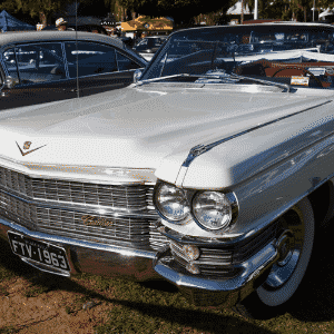 Cadillac Series 62 Convertible, ano 1963, de João Caetano Mello; II Encontro Brasileiro de Autos Antigos de Águas de Lindóia, SP, 05/Junho/2015 - Murilo Góes/UOL