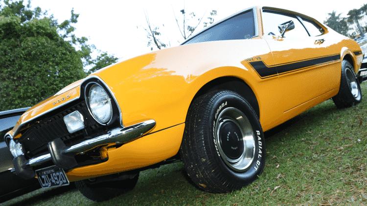 Ford Maverick GT 302-V8 de 1977 de propriedade de Anderson Di Santo;  II Encontro Brasileiro de Autos Antigos de Águas de Lindóia, SP 05/Junho/2015 - Murilo Góes/UOL - Murilo Góes/UOL