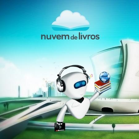 Logo da biblioteca virtual Nuvem de Livros - Reprodução