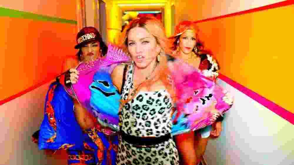 """Madonna no clipe """"Bitch I'm Madonna"""" - Divulgação"""
