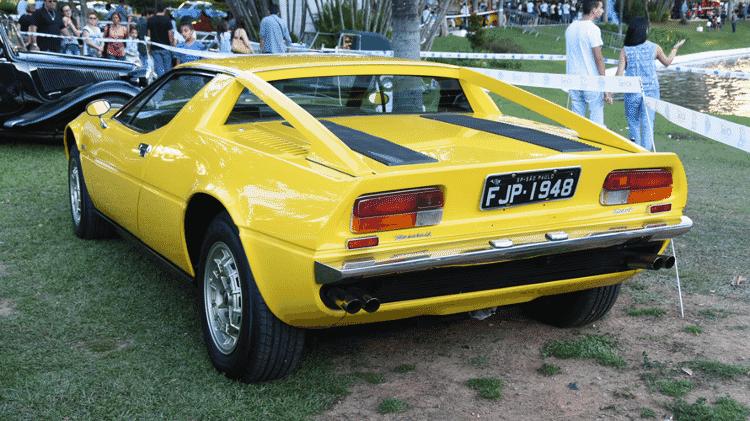 Maserati Merak de 1974 de propriedade de Ivete Marcondes; II Encontro Brasileiro de Autos Antigos de Águas de Lindóia, SP 05/Junho/2015 - Murilo Góes/UOL - Murilo Góes/UOL