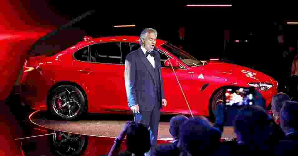 Alfa Romeo Giulia 2016 - Fabio Ferrari/Reuters