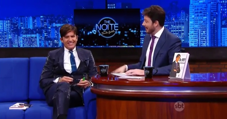 "Dr. Rey no ""The Noite"""