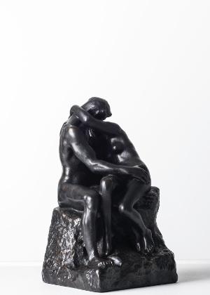 """""""O Beijo"""", de Auguste Rodin - Divulgação / Rafael Pinho"""