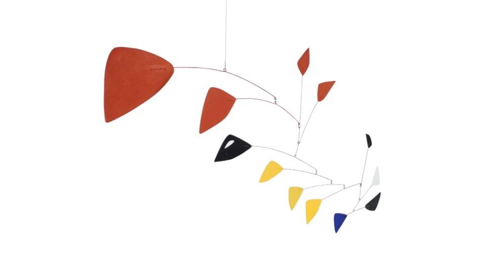 Sem Título (1962), arame e chapa de metal pintado