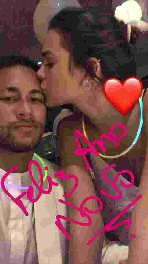 1.jan.2017 - Parece que Neymar e Bruna Marquezine finalmente assumiram o namoro - Reprodução/Instagram