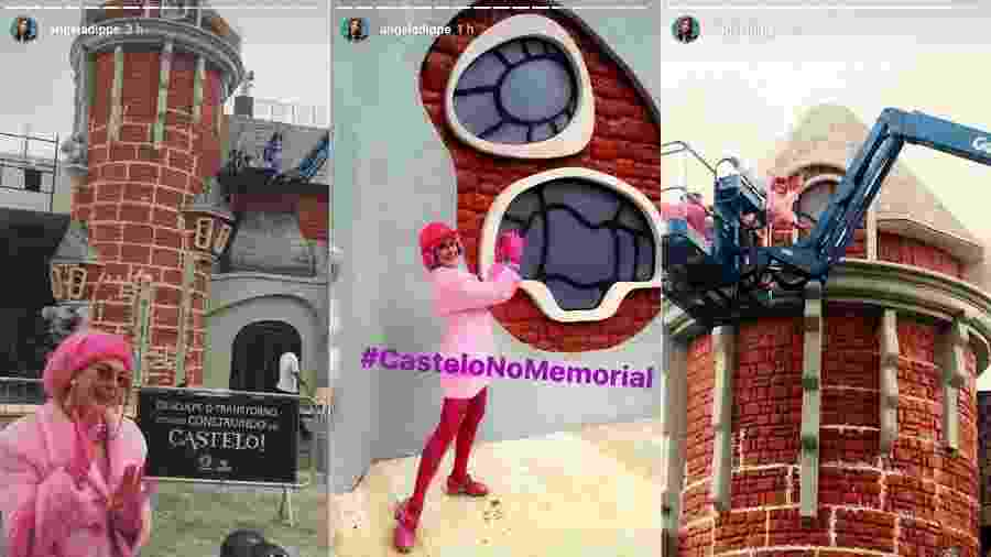 """Angela Dippe volta a se vestir como Penélope para a exposição sobre """"Castelo-Rá-Tim-Bum"""" no Memorial da América Latina - Reprodução/Instagram/angeladippe"""