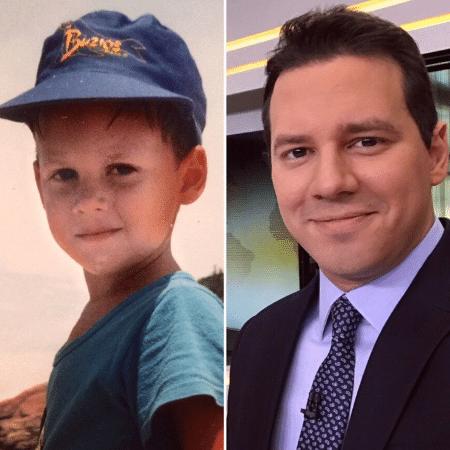 Dony De Nuccio mostra foto da infância e de agora - Reprodução/Instagram/donydenuccio