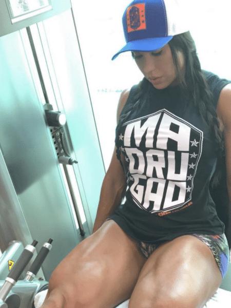 Gracyanne Barbosa mostra coxas grossas durante malhação - Reprodução/Instagram/graoficial