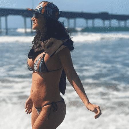 Débora Nascimento mostra barriguinha de gravidez - Reprodução/Instagram