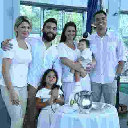 Batizado de Sallvatore, filho de Antonia Fontenelle  - Reprodução/Instagram