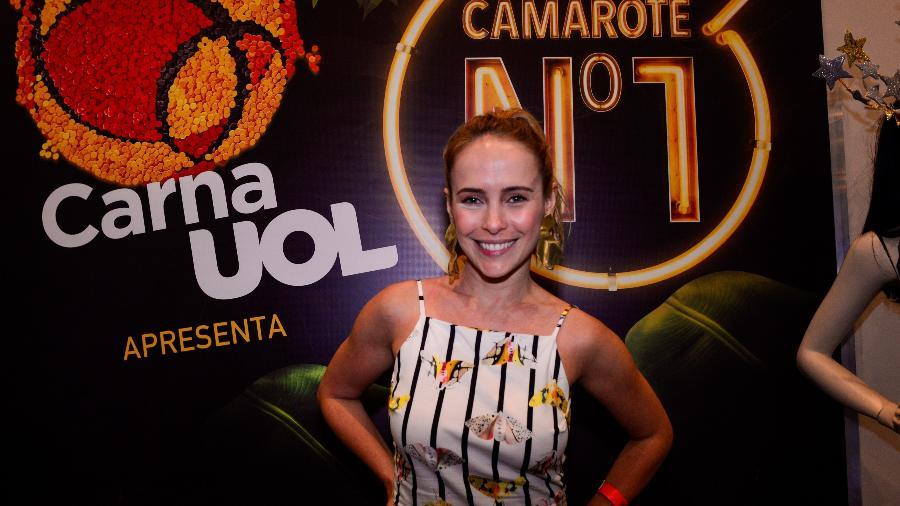 Atriz Fernanda Nobre vai retirar entradas do Camarote N1/CarnaUOL -  Erbs Jr./UOL