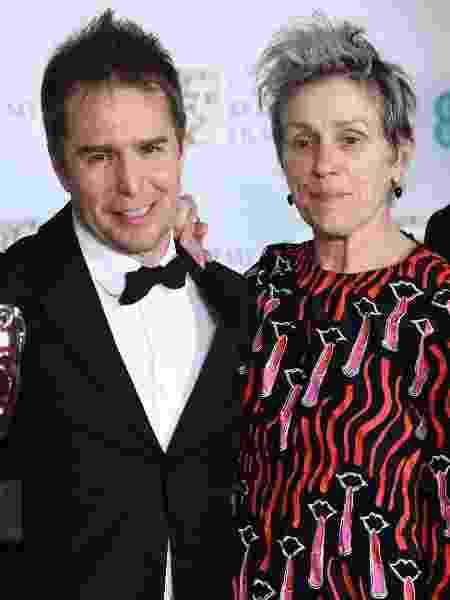 Frances McDormand disse ter 'dificuldade em cumprir regras', ao explicar o motivo de não usar um vestido todo preto - Getty Images - Getty Images