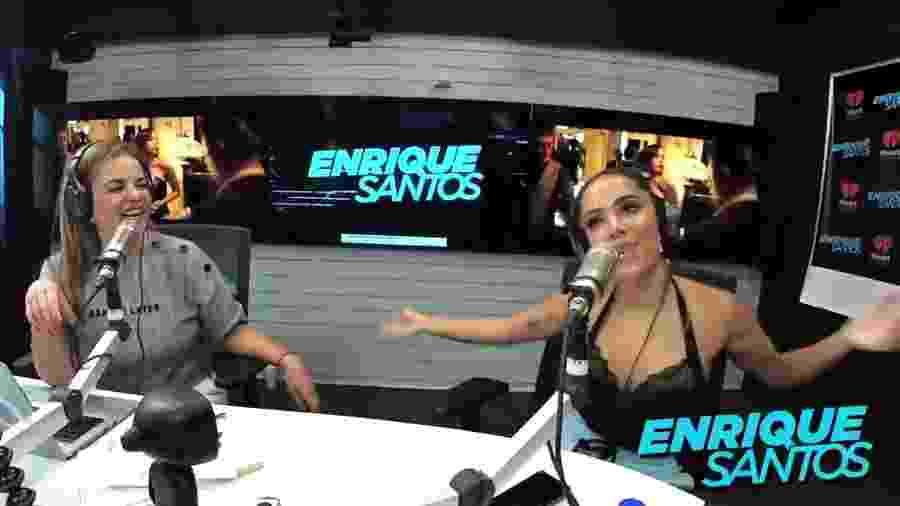 Anitta canta música do RBD em entrevista a rádio mexicana - Reprodução/YouTube