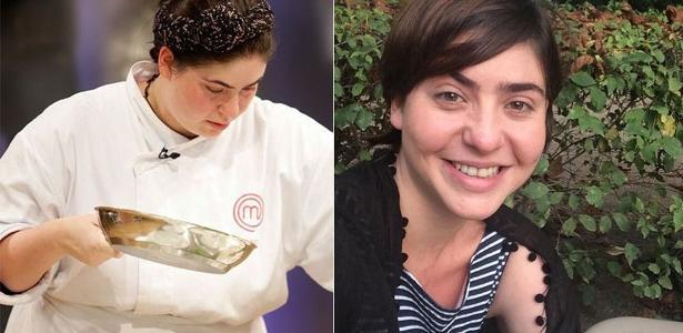 Izabel Alvares antes e depois da dieta que fez a perder 40 quilos. Agora a chef é empresária do universo fit