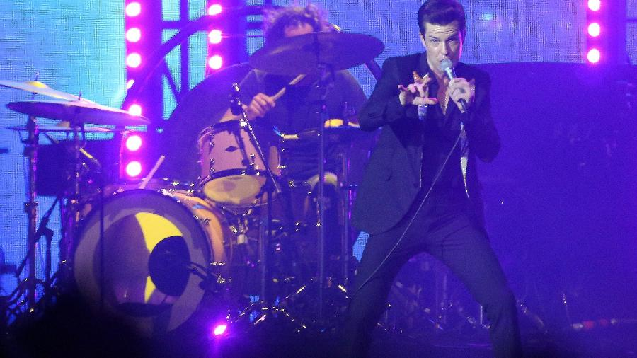 The Killers encerra os shows do palco principal do Lollapalooza Brasil 2018 - Ricardo Matsukawa/UOL