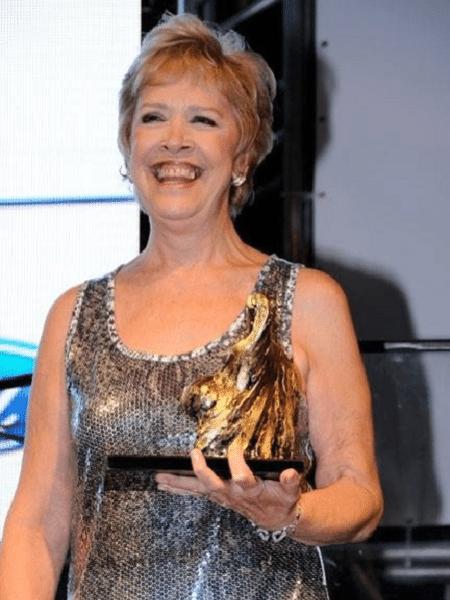 Regiani Ritter: pioneira no jornalismo esportivo entre as mulheres - Arquivo Pessoal