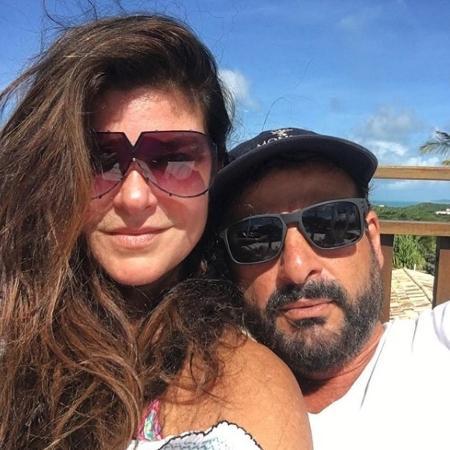 Cristiana Oliveira com o namorado, Sérgio, no Rio Grande do Norte - Reprodução/Instagram