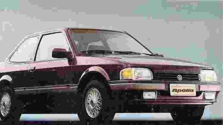 Volkswagen Apollo GLS 1991 - Reprodução - Reprodução