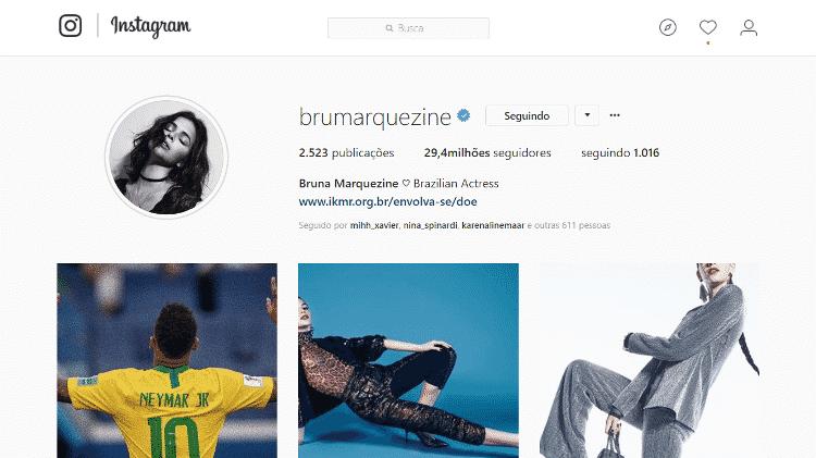 Bruna Marquezine - Reprodução/Instagram - Reprodução/Instagram