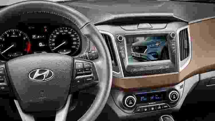 Hyundai Creta Pulse Plus 2019 tem TV digital - Divulgação - Divulgação