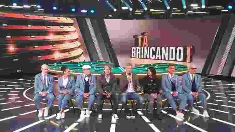 """Otaviano Costa na coletiva do seu programa """"Tá Brincando"""", que estreia em janeiro na Globo - Ana Cora Lima/UOL - Ana Cora Lima/UOL"""