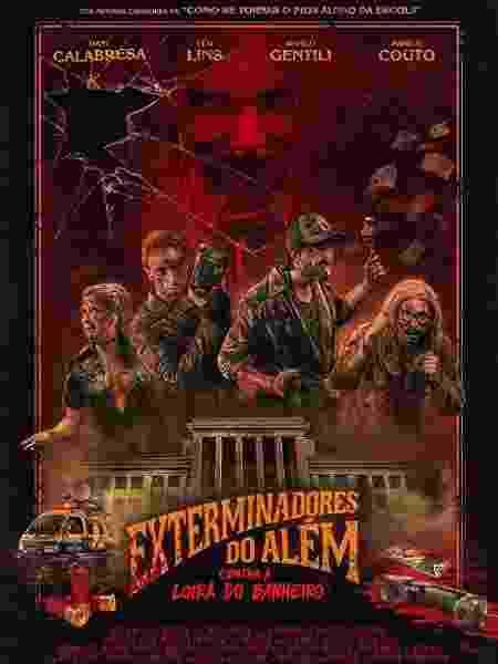 """Cartaz do filme """"Exterminadores do Além Contra a Loira do Banheiro"""" - Divulgação - Divulgação"""