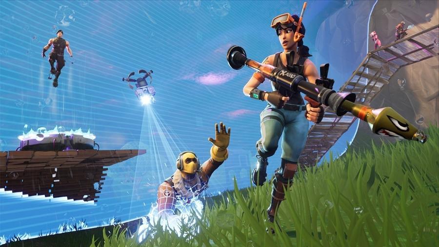 """""""Fortnite"""" se tornou um fenômeno na cultura pop e nos games, com mais de 200 milhões de jogadores. - Reprodução"""