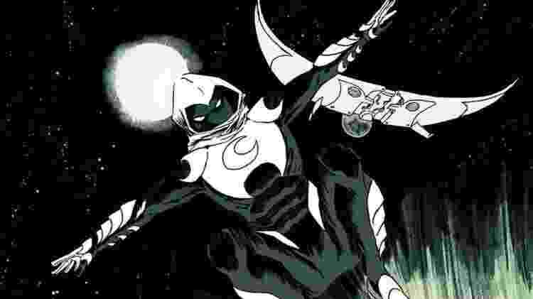 O personagem Cavaleiro da Lua - Reprodução - Reprodução