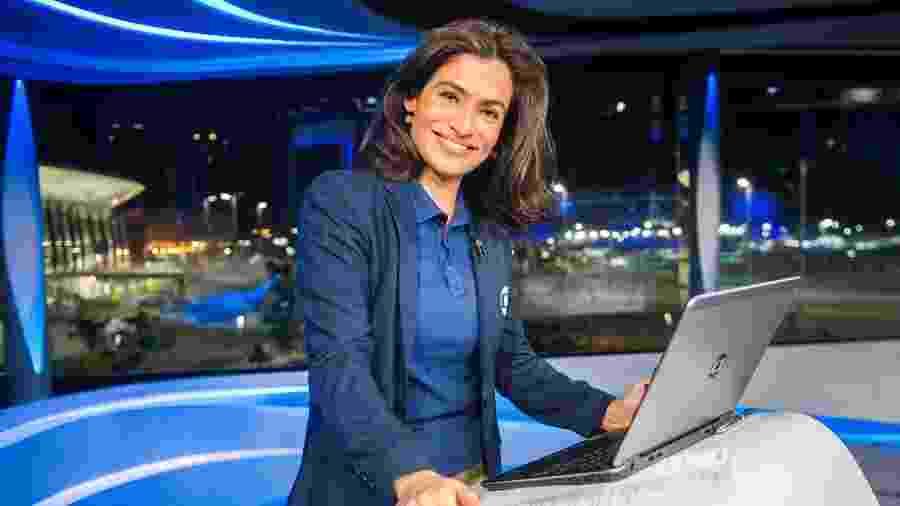 """Renata Vasconcellos, apresentadora do """"Jornal Nacional"""", nasceu três anos depois da primeira transmissão do jornalístico - João Miguel Júnior/Globo"""