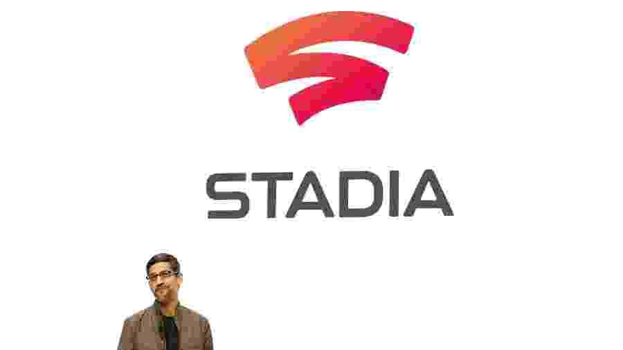 Executivo-chefe do Google, Sundar Pichai apresenta a plataforma Stadia - Stephen Lam/Reuters