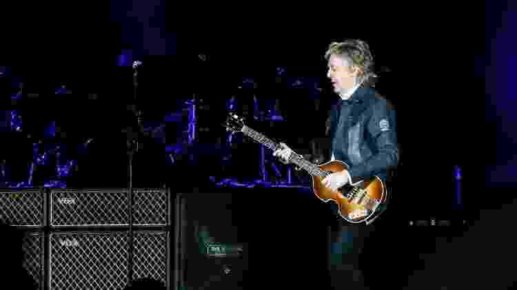 Paul McCartney toca em São Paulo - Lucas Lima / UOL