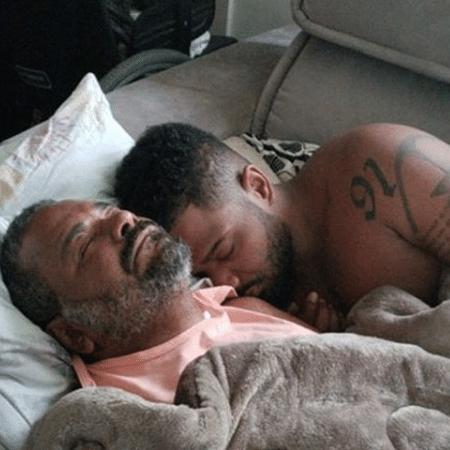 Arlindo Cruz e o filho, Arlindinho - Reprodução/Instagram