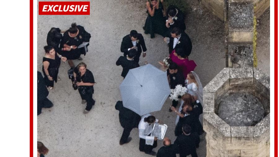 Sophie Turner se casa com Joe Jonas em cerimônia na França - Reprodução/TMZ/Backgrid