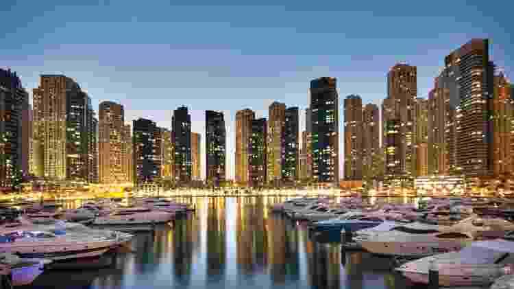 A Marina é um símbolo da poderosa capacidade de interferência no ambiente - Divulgação/Turismo Dubai
