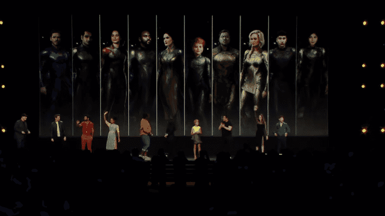 Os Eternos se reúnem no painel da Marvel na D23 - Reprodução/YouTube - Reprodução/YouTube
