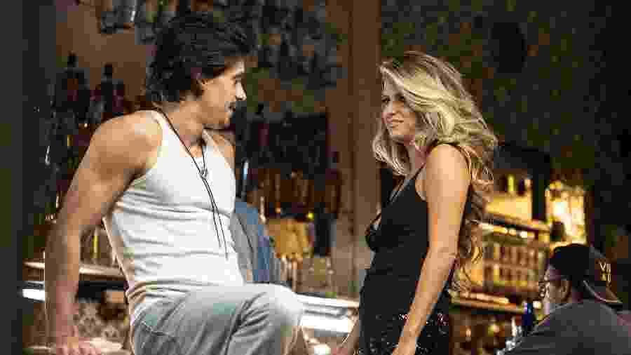 Ivan Mendes (Pedro) e Maria Bopp (Bruna Surfistinha) em cena da quarta temporada de Me Chama de Bruna - Divulgação/Fox