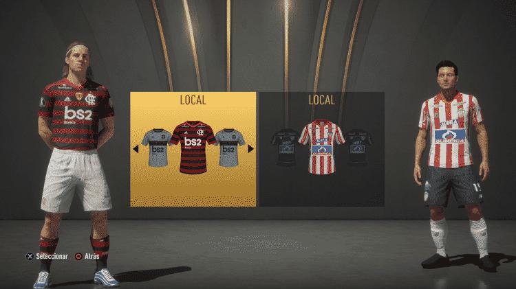 FIFA 20 UNIFORMES  - Reprodução  - Reprodução