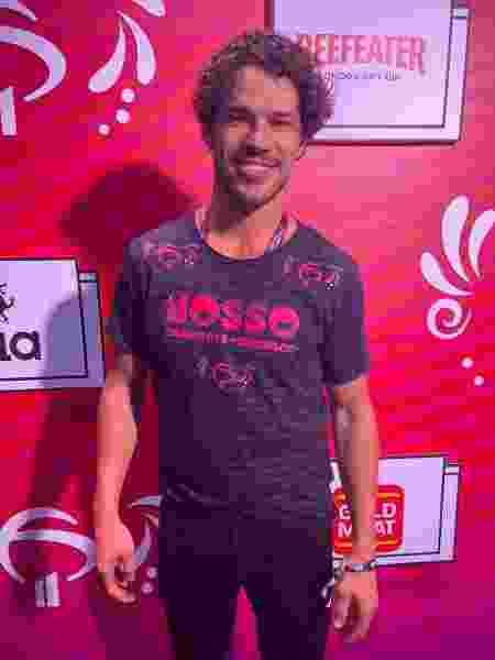 José Loreto curte o Carnaval na Sapucaí - Rafael Godinho/ UOL