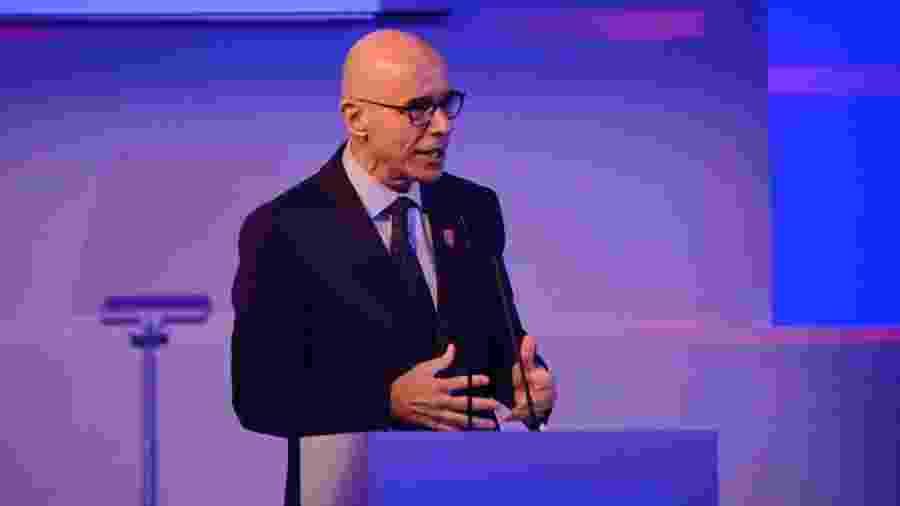 Sergio Rial, presidente do Santander no Brasil, no evento de lançamento da CNN Brasil - Divulgação CNN Brasil - Spokesman