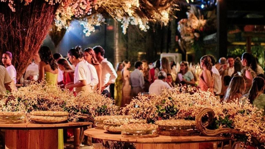 Um dos convidados do casamento de Marcela Minelli acabou espalhando o vírus na festa - Reprodução/Instagram