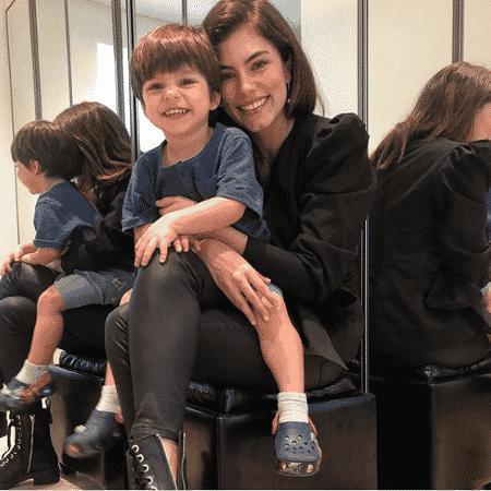 Bruna Hamú e o filho Julio - Reprodução/Instagram