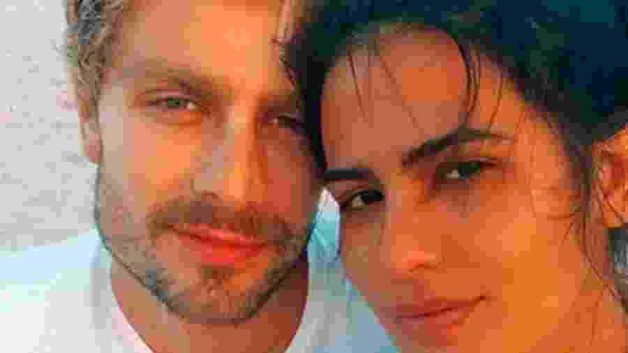 Antônia Morais e Paulo Dalagnoli terminaram o relacionamento - Reprodução/Twitter